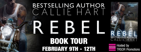 rebel - book tour
