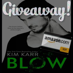 blow giveaway