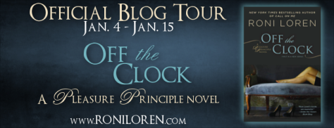 Off the Clock Blog Tour Banner
