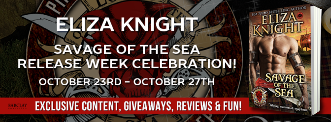 📚 Excerpt & Giveaway: SAVAGE OF THE SEA by Eliza Knight – Coming October 26th