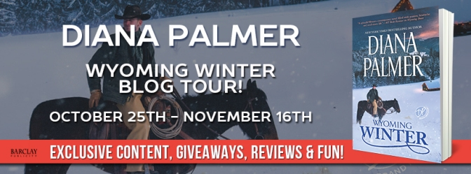 WYOMING WINTER by Diana Palmer – Read an excerpt and enter giveaway